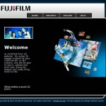 FUJIFILM 3D Website