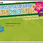 FUJIFILM Christmas Party RSVP System - Thank you page