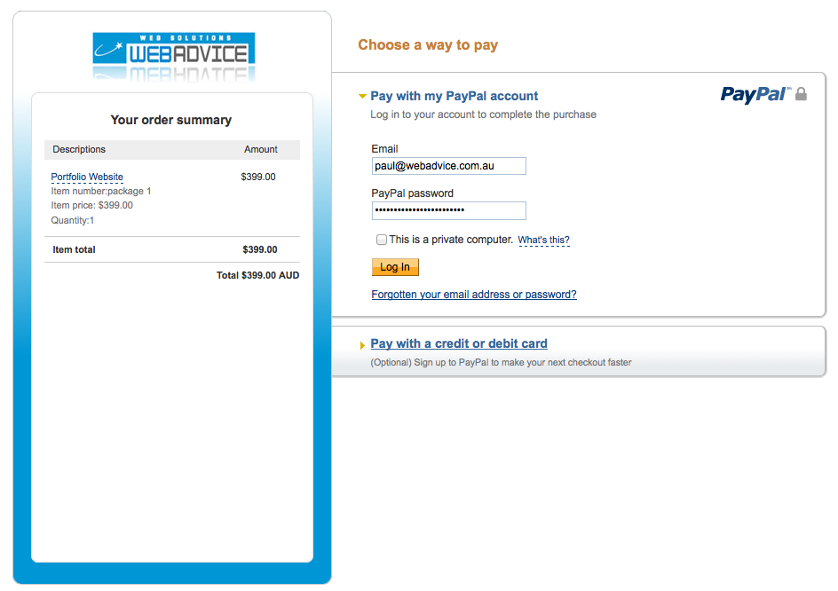 How to customise your Paypal payment page